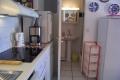 Küche Eingang zum Bad 2017