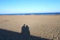 Strand Anfang April